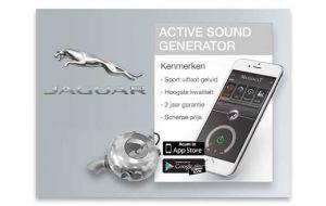 Active Sound Generator Jaguar - Diesel en Hybride