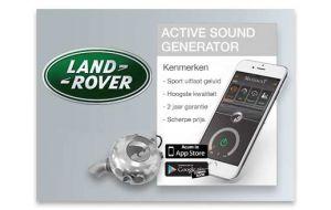 Active Sound Generator Range Rover - Diesel en Hybride