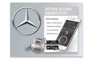 Active sound generator Mercedes - Diesel en Hybride