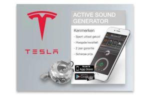 Active Sound Generator Tesla