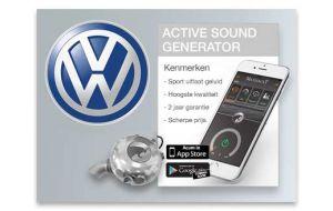 Active sound generator VW - Diesel en Hybride