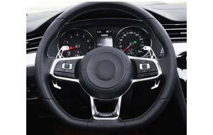 VW Golf 7 GTI GTD GTE R Polo 6C GTI DSG stuur schakel flippers aluminium zilver