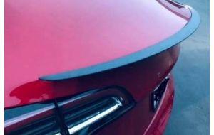Tesla Model 3 achterklep spoiler mat grijs carbon