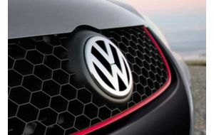VW logo voor Golf 5 V en Polo 6R origineel