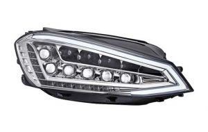 VW Golf 7 VII Full LED DRL koplampen chrome