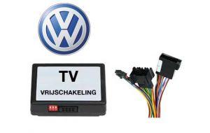 VW TV DVD vrijschakeling met inbouw