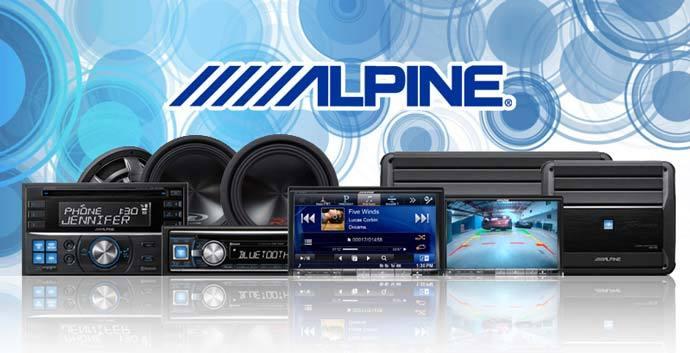 Alpine radio en navigatie dealer