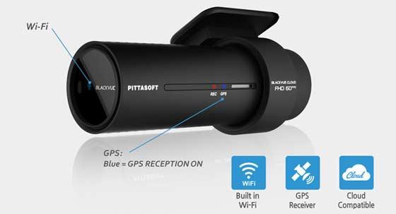 BlackVue DR750S 1CH Wifi en GPS