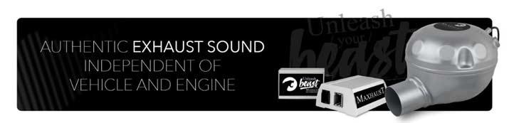 Sound generator inbouw