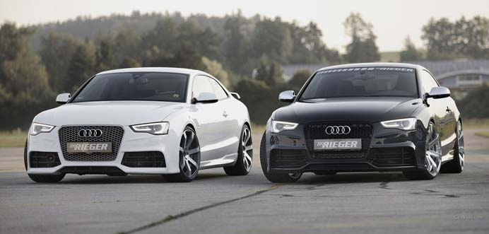 Rieger tuning Audi A5