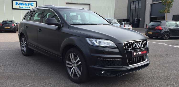 carwrapping q7