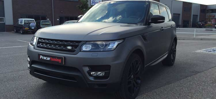 carwrapping range rover sport