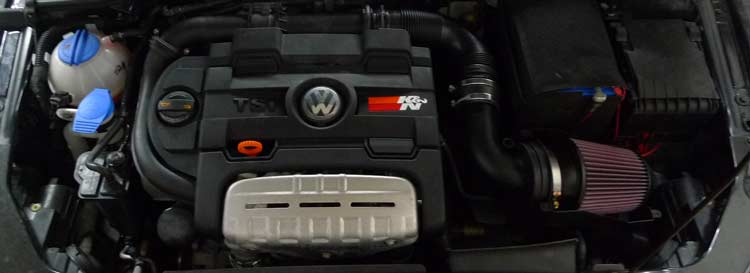 K&N luchtfilter VW