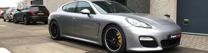 Remklauwen spuiten Porsche Panamera